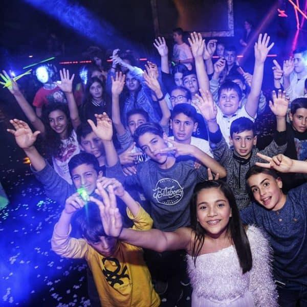 תמונה של חגיגת בת מצווה במועדון לבת מצווה